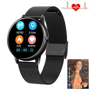 Herren Smartwatch Fitness Tracker Sport Uhr Armband für Samsung S10 S9 S8Plus S7