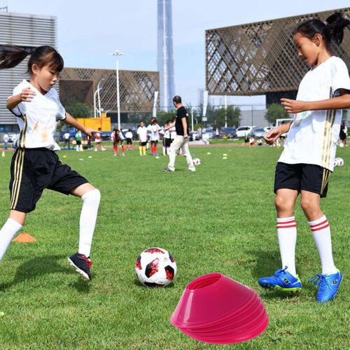 10pcs Soccer Training Sign Dish Pressure Resistant Cones Marker Discs Marker GD