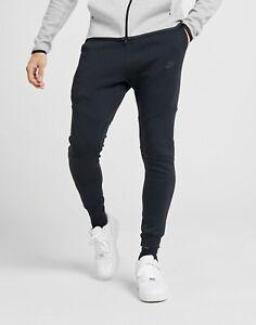 Men S Nike Tech Fleece Joggers Tapered Track Pants Ebay