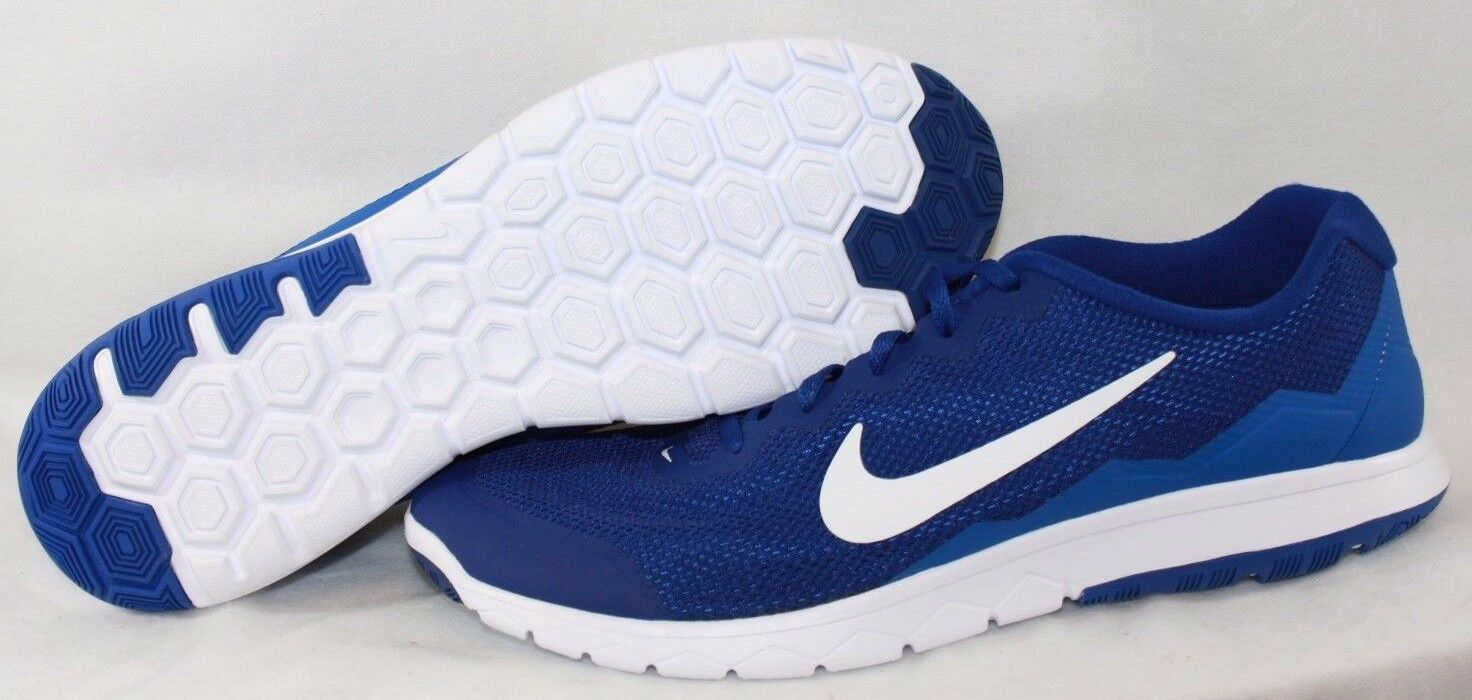 NEW Mens NIKE Flex Experience RN 4 749172 400 Blue White Sneakers Shoes