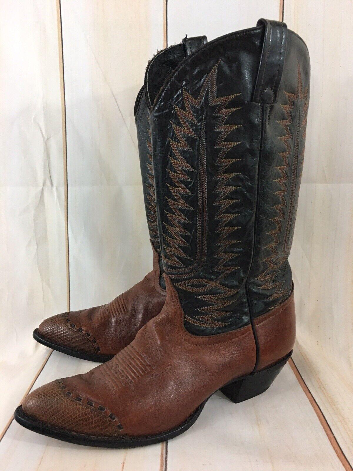 Vintage Tony Lama Leather  Western Cowboy stivali donna 65533s  buon prezzo