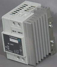 Eurotherm Te10a 25a480v0v5pacl Phase Angle Thyristor Power Controller