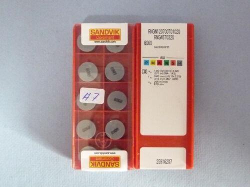 10 Stck Sandvik RNGN 120700T01020  6060