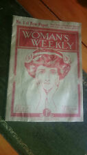 Magazine Vol 1 Iss 1 The Women's Weekly November 4th 1911 Original Copy