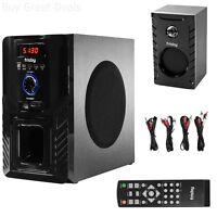 Bluetooth 5.1 Ch Surround Sound Wireless Home Theater Speaker System Hq Bass