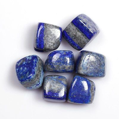 """Shipping From USA,1/2 LB Lapis Lazuli Stones Large 1""""Reiki Crystals Free Pouch"""
