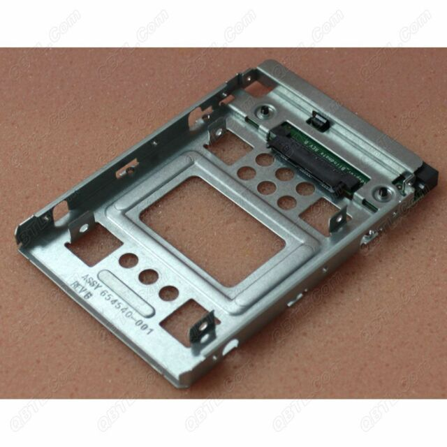 Genuine New HP 2.5'' SSD to 3.5'' 654540-001 Adapter Converter US-SameDayShip