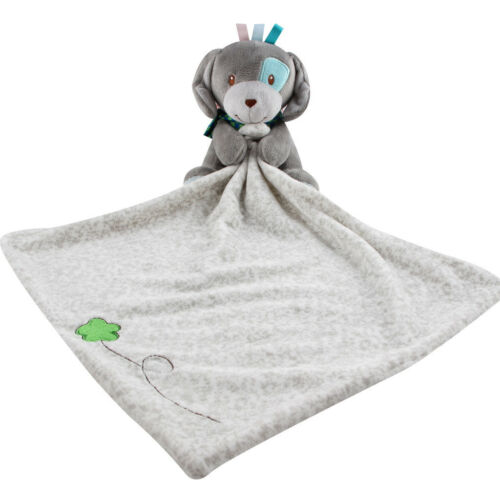 Newborn Infant Baby Soft Sleep Appease Towel Blanket Animal Doll Plush Toy
