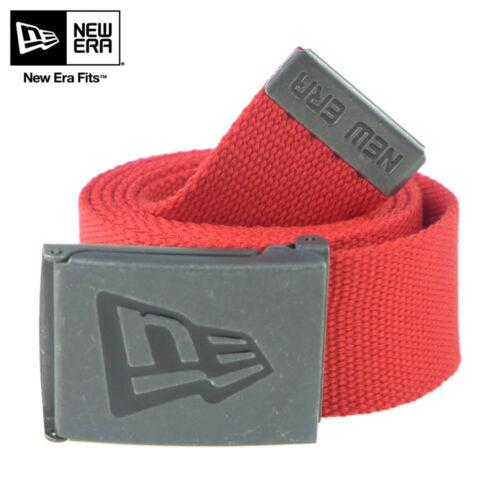 NEW ERA Cintura TELA Belt NEW Logo UOMO DONNA Nuovo CINTA Fibbia UNISEX Cinto V1