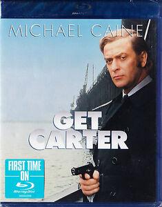 Get-Carter-BluRay-mit-Michael-Caine-Neu-und-originalverpackt-in-Folie