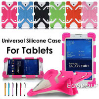 """Universal Shockproof Silicone Soft Case Cover For 7"""" 7.9"""" 8"""" Inch Tablets PC MID"""