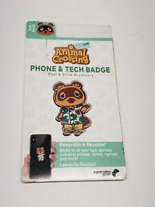 Animal Crossing New Horizons TOM NOOK Phone & Tech Badge | Nintendo Switch