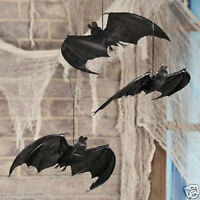 HALLOWEEN HANGING BATS - 3 Piece Set New Toys