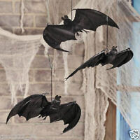 HALLOWEEN HANGING BATS - 3 Piece Set New Toys