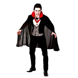 Vampire Costume Adult Dracula Halloween Fancy Dress