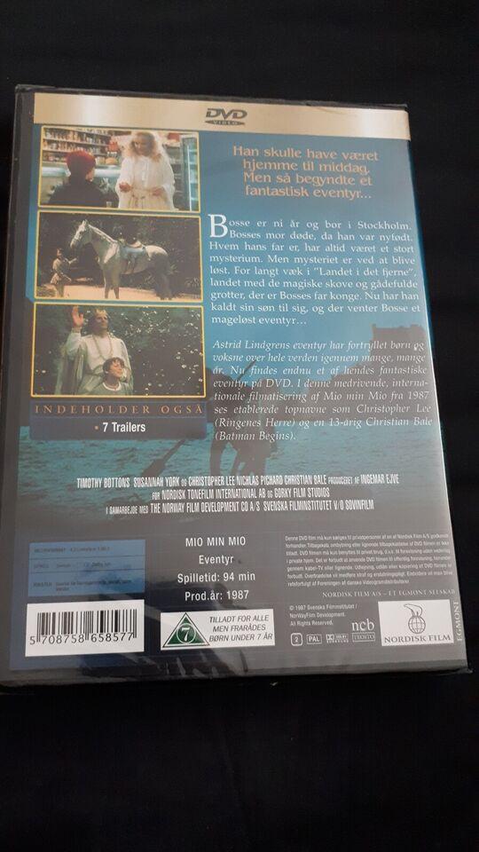 Mio min mio , DVD, eventyr