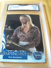 PENNY BILLIE KALEY CUOCO 2007 CHARMED TEMPTING FATE BEST INTENTIONS GRADED 10