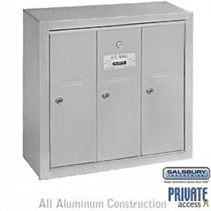 Salsbury Commercial Apartment Mailbox Surface Recessed | eBay