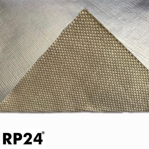 25x50 cm Hitzeschutzfolie Hitzeschutzmatte Alu selbstklebend 0,5 mm  700°C