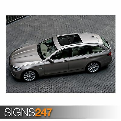 BMW 5 SERIES TOURING F11 CAR POSTER AB494 Poster Print Art A0 A1 A2 A3