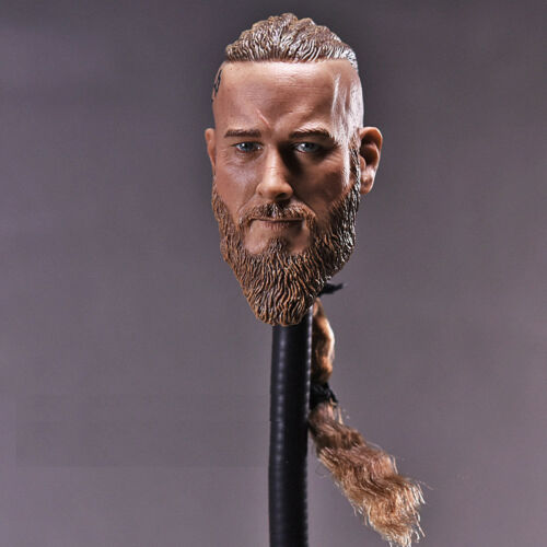 "1//6 Viking Male Head Sculpt For 12/"" Hot Toys TBLeague Worldbox Male Figure ❶USA❶"