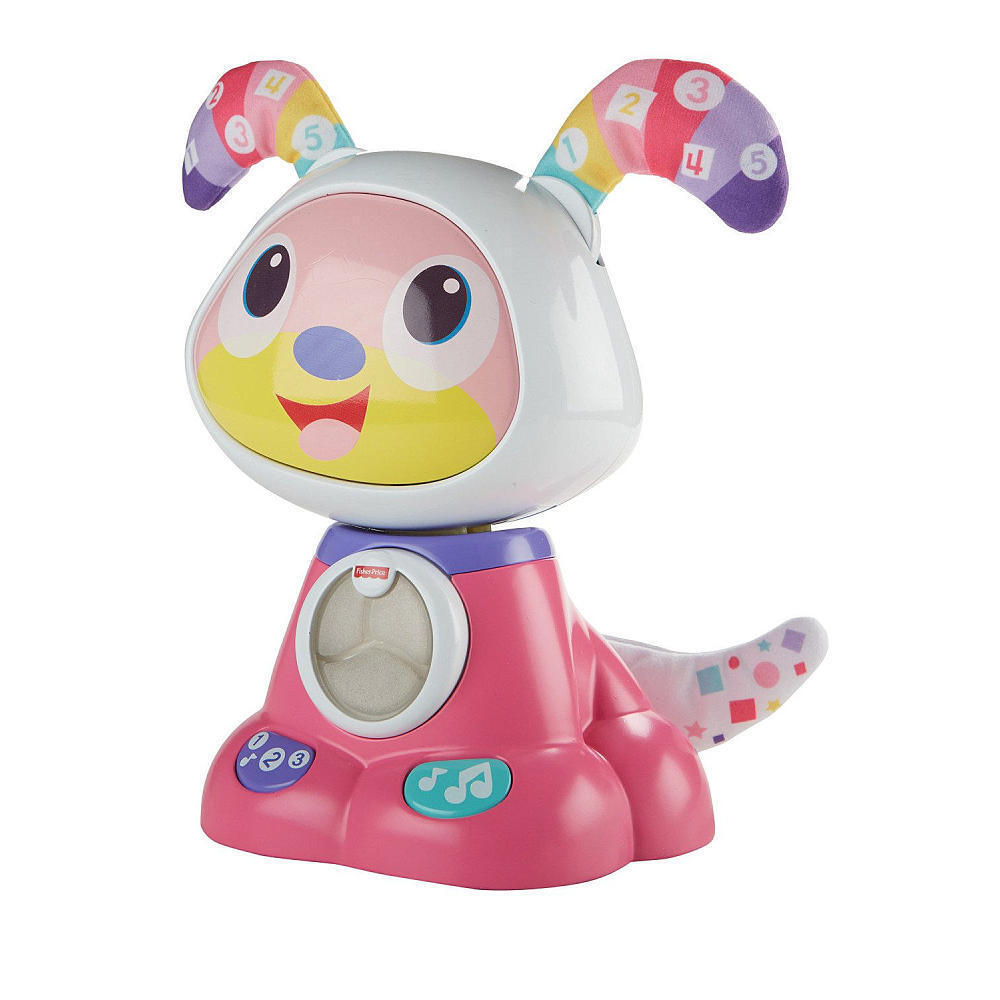 Fisher Price Bright Beats Beats Beats Dance & Move Beat Puppy Bow Wow Pink FBY55 NEW 5e6e31