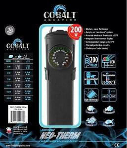 COBALT-NEO-THERM-SUBMERSIBLE-AQUARIUM-HEATER-PICK-YOUR-SIZE-25W-TO-400W