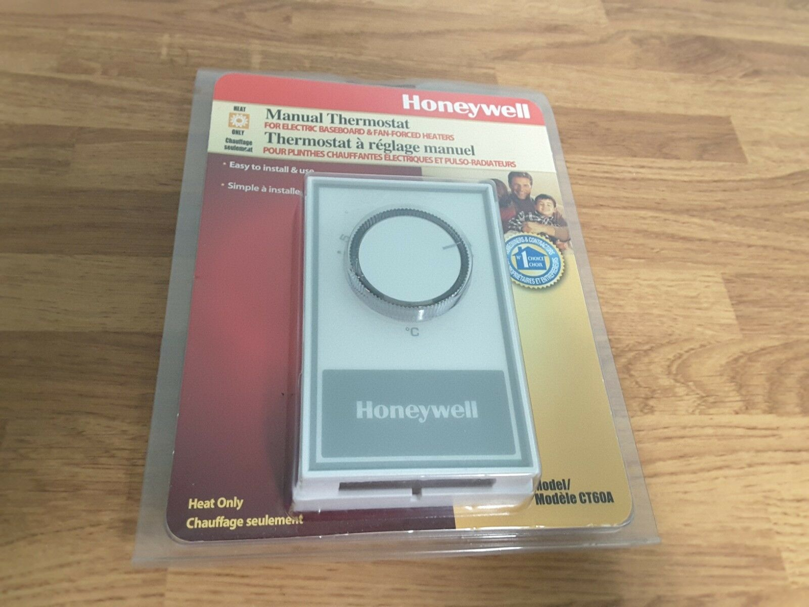 Honeywell Ct60a Non Programmable