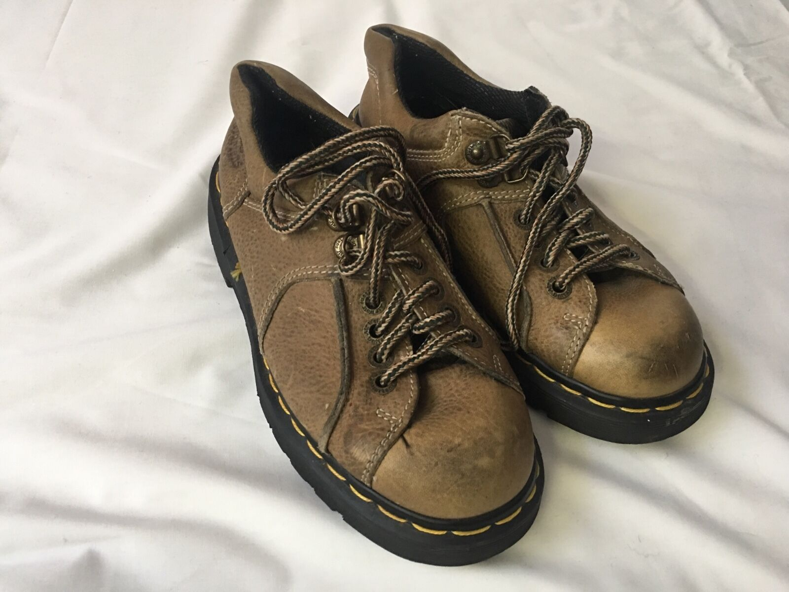 Dr. Martens DMs Air Cushion  Leather Oxford Casual Shoe UK5 US 7 punk goth rock