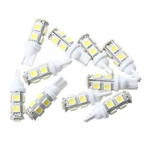 10-x-Bombillas-T10-194-168-W5W-9-LED-5050-SMD-Luz-Blanco-para-Coche-Bajo-Consumo