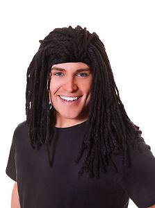 Long Rasta Fancy Dress Costume Wig Adult Party Novelty Dreadlock Hair
