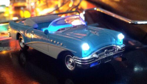 Creature From The Black Lagoon Pinball BLUE BUICK Convertible Custom Car Mod