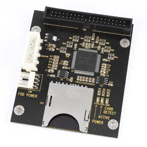 SD SDHC SDXC MMC Card to IDE 40Pin 3.5inch Male Adapter L3R9