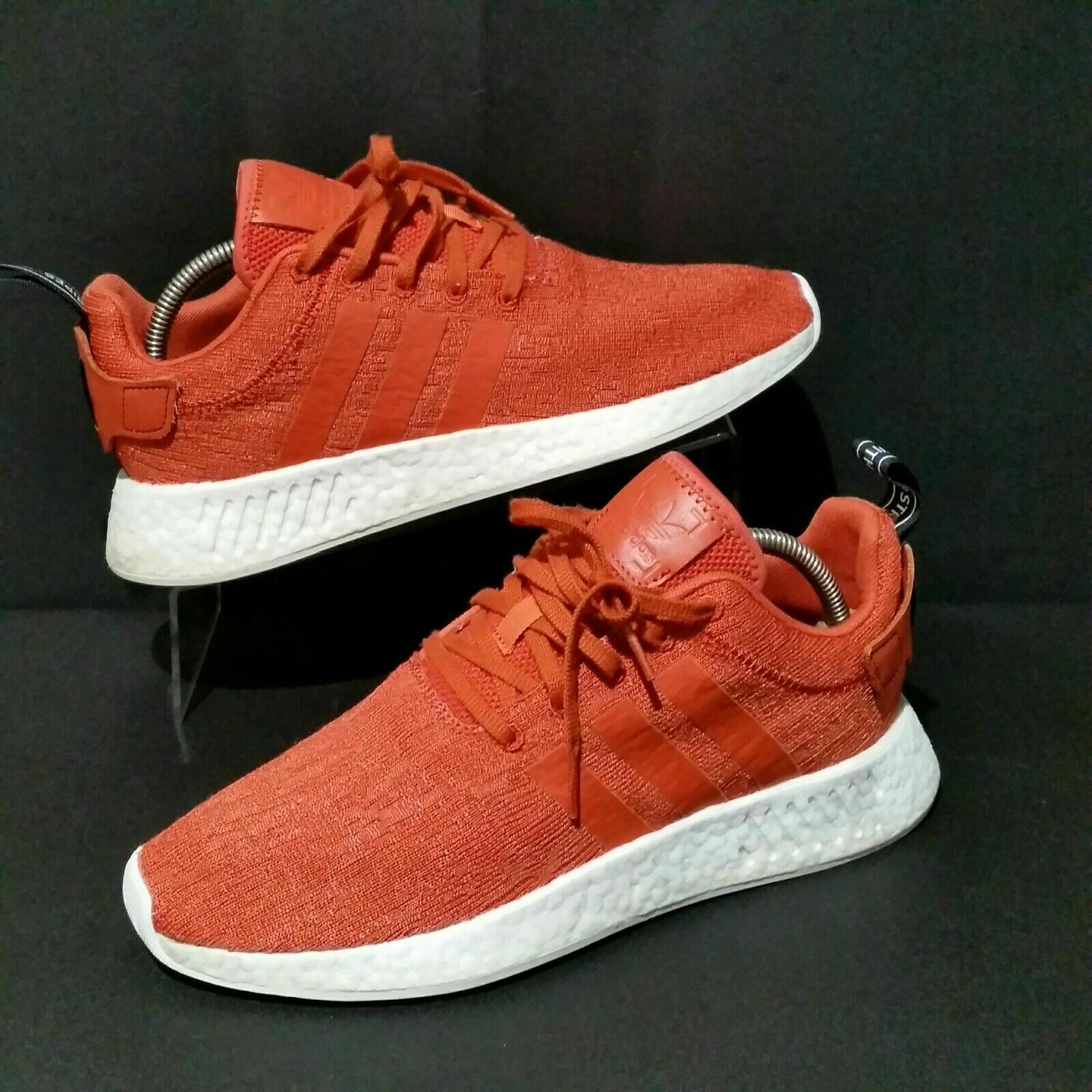 Adidas NMD R2 Future Harvest (Men's Size 10) Carred orange sneakers Ultra Boost