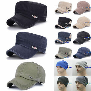 6889cd5de6c5f Military Hat Army Cadet Patrol Castro Cap Men Women Golf Baseball ...