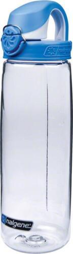 24oz Clear with Blue Cap Nalgene Tritan OTF Water Bottle
