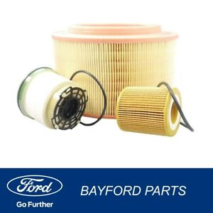 GENUINE-FORD-PX-RANGER-MK2-AIR-DIESEL-OIL-AND-FUEL-FILTER-SERVICE-KIT