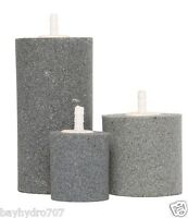 Active Aqua Large Air Stone Cylinder 4 X 2 Use 1/4 Tubing Hydroponic Aeration