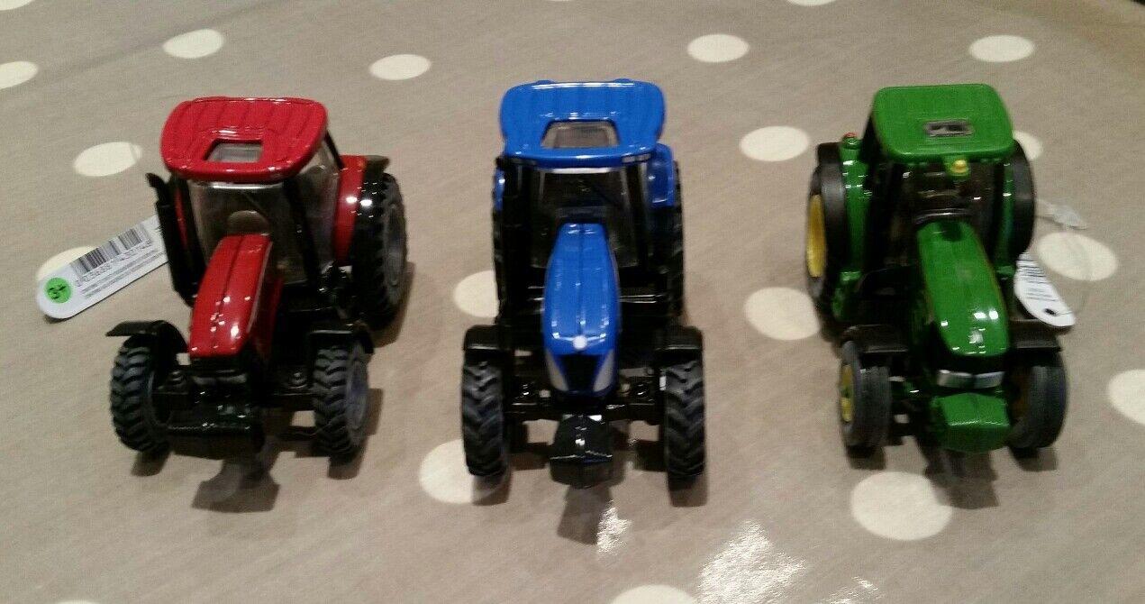 Britains Tractor Escala 1 64 64 64 - Caja de 12 John Deere nh CASE IH-gran presenta 8c11ee