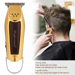 Men Pro Electric Cordless Hair Clipper Beard Barber Trimmer Shaver Razor Haircut