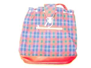 Little-Old-Hiking-Backpack-Children-Backpack-GDR-Tartan-Pattern-Check