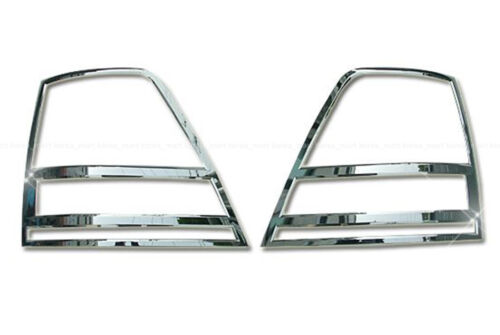 Chrome Rear Light Lamp Cover Molding Trim for 2003-06 Kia Sorento w//Tracking No.