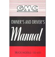 1949 Gmc Truck Owner's Manual