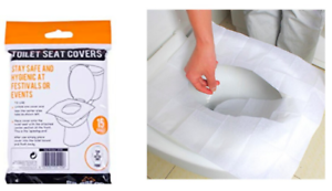 15 Disposable Toilet Seat Covers Liners Flush Away