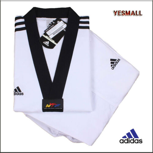 Adidas New 3//////fighter uniform//ADI-FIGHTER NEW 3-STRIPE Taekwondo Uniform//Gis