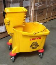 Commercial Restaurant Hall Floor Cleaning Mop Trolley Water Bucket With Wringer