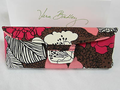 Vera Bradley - Womens Hard Eyeglass Cases - Snap Closure - $22.00 value - NEW