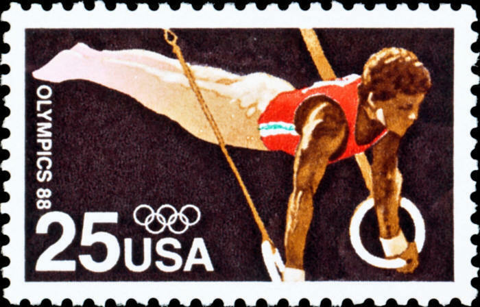 1988 25c Summer Olympics, Seoul, Korea Scott 2380 Mint
