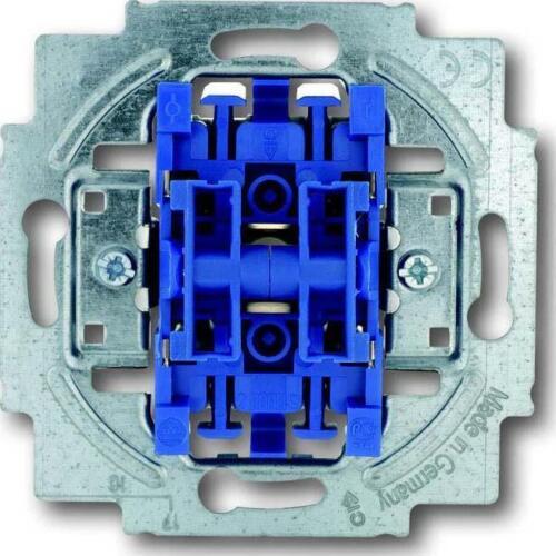 Busch-Jaeger Serienschalter-Einsatz 2000//5 US IP20 blau Installationsschalter