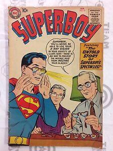 Superboy-70-Comic-Book-DC-1958